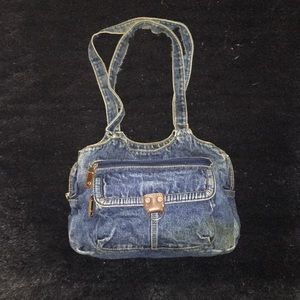 Handbags - Denim mini purse
